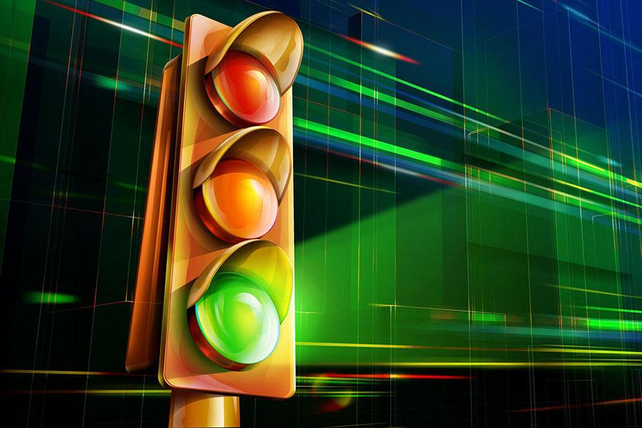 Par satiksmes organizācijas izmaiņām Lielās ielas - Dobeles šosejas - Māras ielas krustojumā