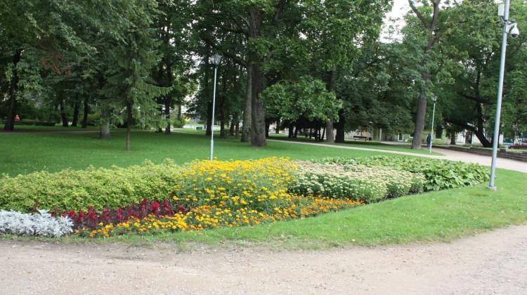 Pilsētas parki un apstādījumi