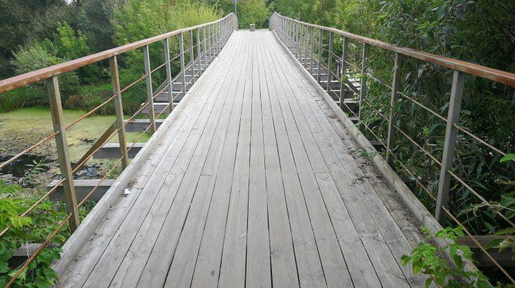 Bauskas ielas tilts pār Platones upi