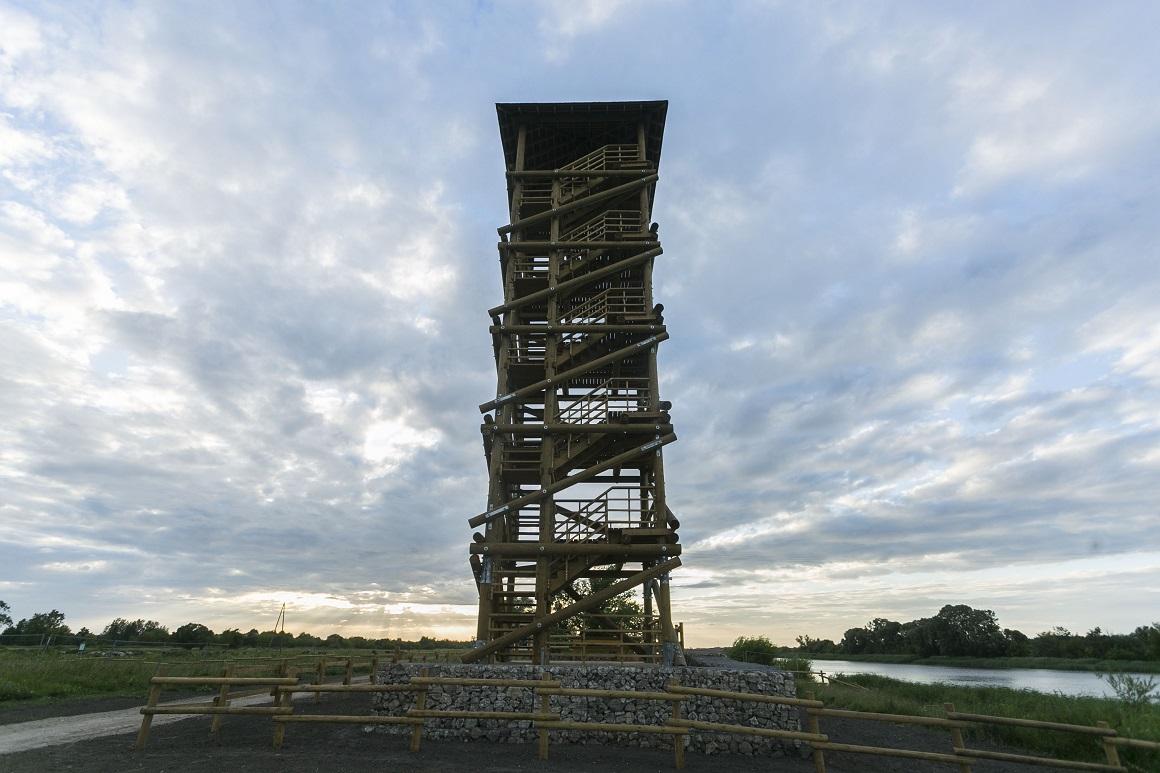 Pils salas skatu tornis; Foto – Jelgavas pilsēta