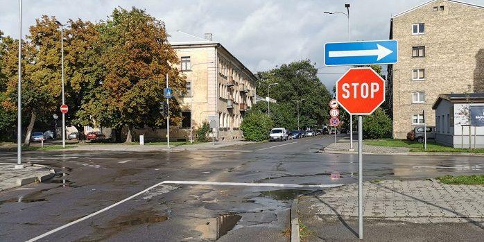Krišjāņa Barona ielas un Pasta ielas krustojums