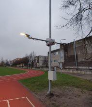 Jelgavas Tehnoloģiju vidusskolas apgaismojuma modelēšanas poligons