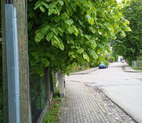 Pavasara ielas un Pulkveža Oskara Kalpaka ielas krustojums