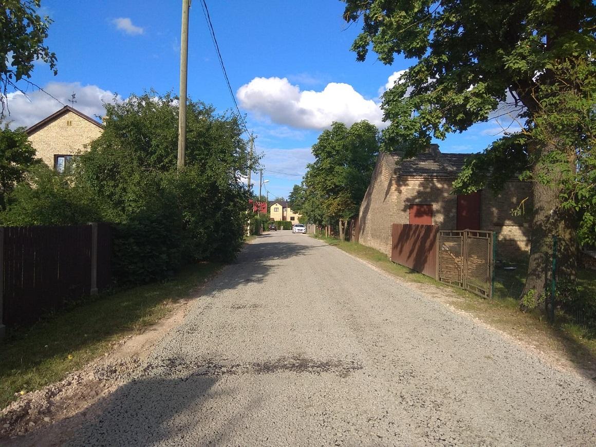 Iecavas iela no Izstādes ielas puses