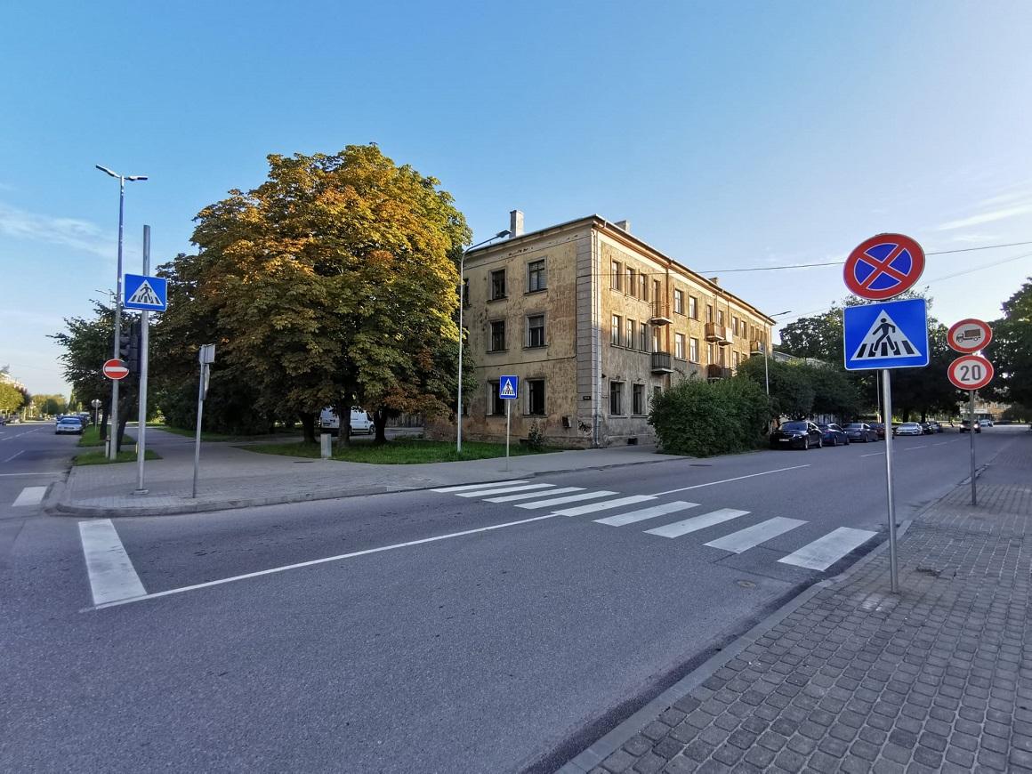 Pasta ielas un Krišjāņa Barona ielas krustojums